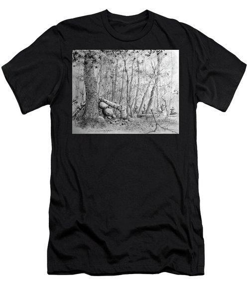 Many Balanced Rosks Men's T-Shirt (Athletic Fit)