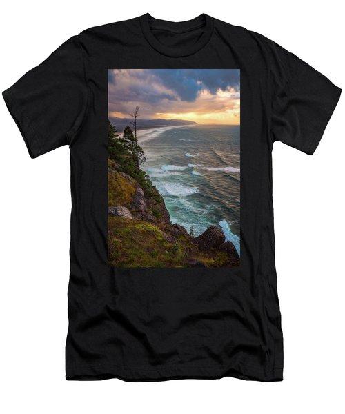 Manzanita Sun Men's T-Shirt (Slim Fit) by Darren White