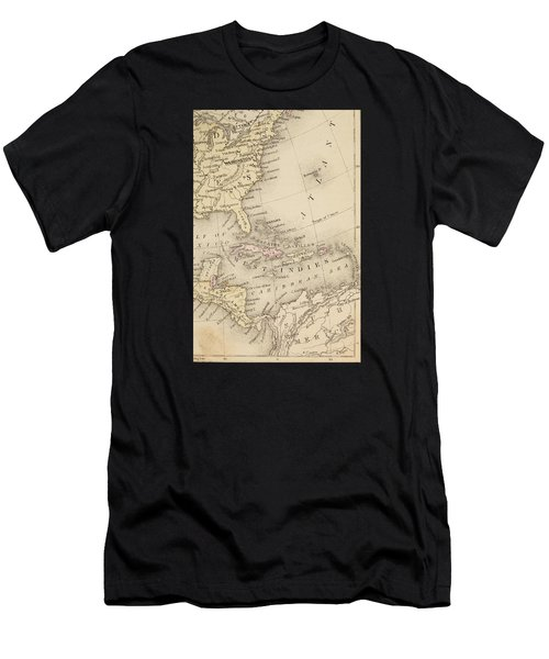 Map Men's T-Shirt (Athletic Fit)