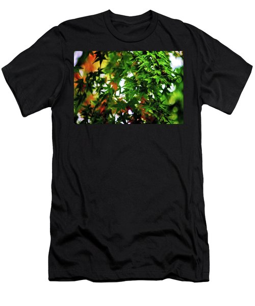 Maple In The Mist Men's T-Shirt (Athletic Fit)