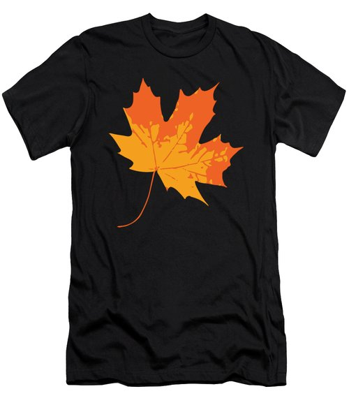 Men's T-Shirt (Athletic Fit) featuring the digital art Maple Leaf by Jennifer Hotai