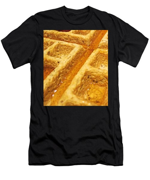 Men's T-Shirt (Athletic Fit) featuring the photograph Maple Street by Robert Knight