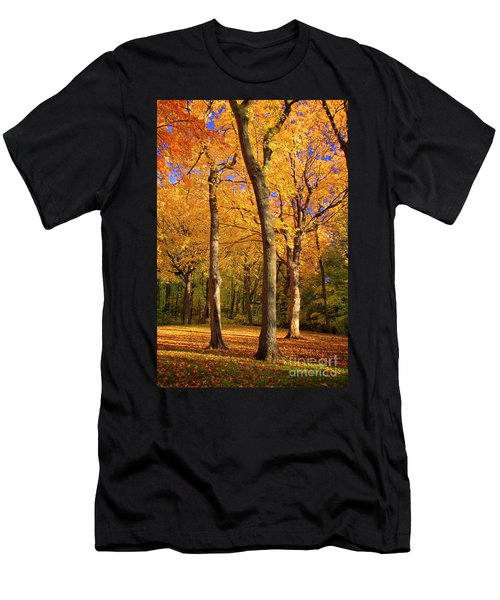 Men's T-Shirt (Athletic Fit) featuring the photograph Maple Treo by Scott Kemper