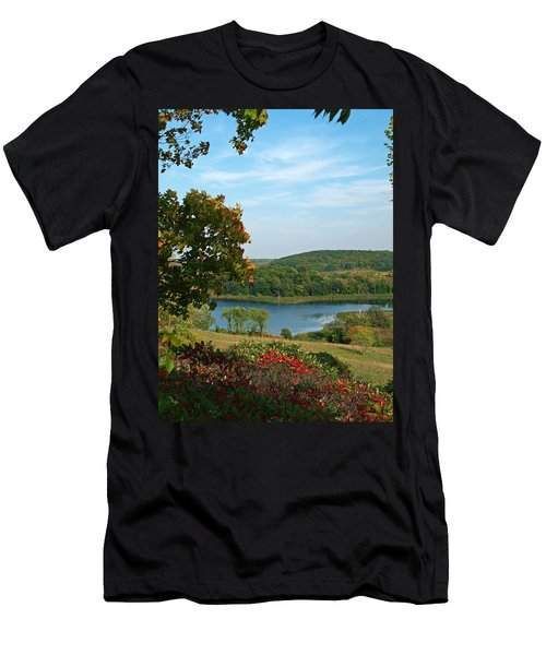 Men's T-Shirt (Athletic Fit) featuring the photograph Maplewood State Park by James Peterson
