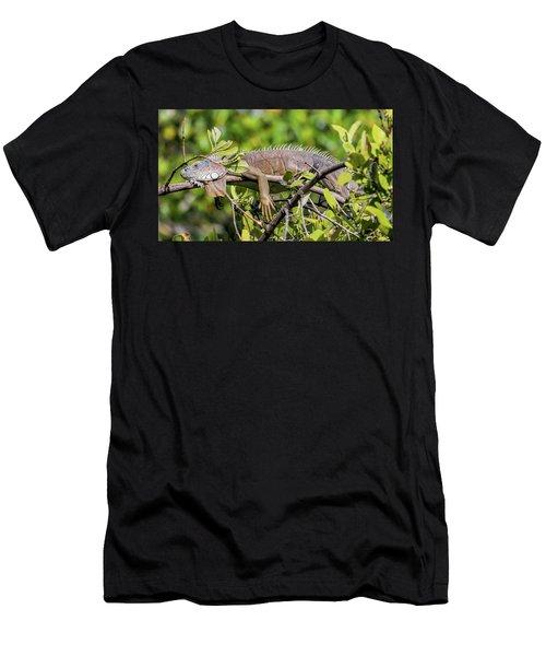Marathon Lizzard Men's T-Shirt (Athletic Fit)