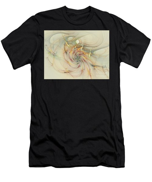 Marble Spiral Colors Men's T-Shirt (Athletic Fit)
