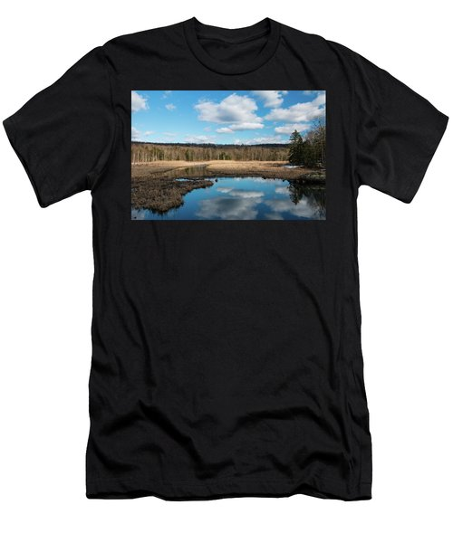 March Afternoon At Black Creek Men's T-Shirt (Athletic Fit)