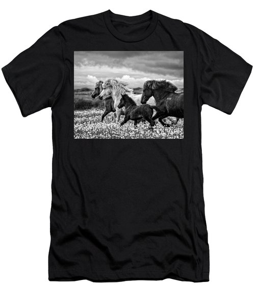 March Of The Mares Men's T-Shirt (Athletic Fit)