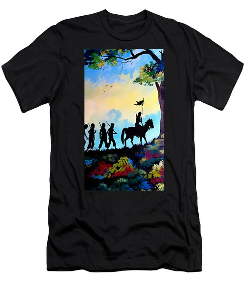 Marching At Daybreak Men's T-Shirt (Athletic Fit)