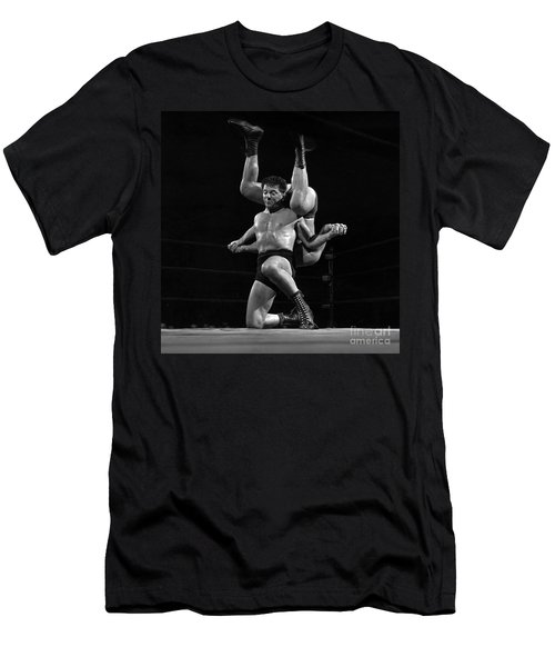 Marco Polo, A Wrestler Also Known As Ted Bell And Steve Karas, I Men's T-Shirt (Athletic Fit)