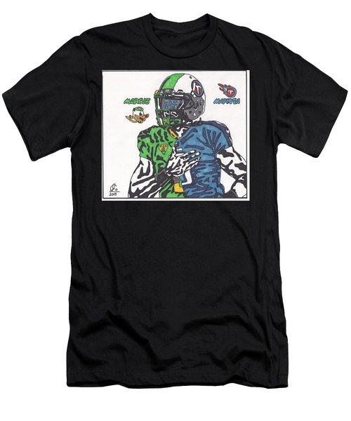 Marcus Mariota Crossover Men's T-Shirt (Athletic Fit)