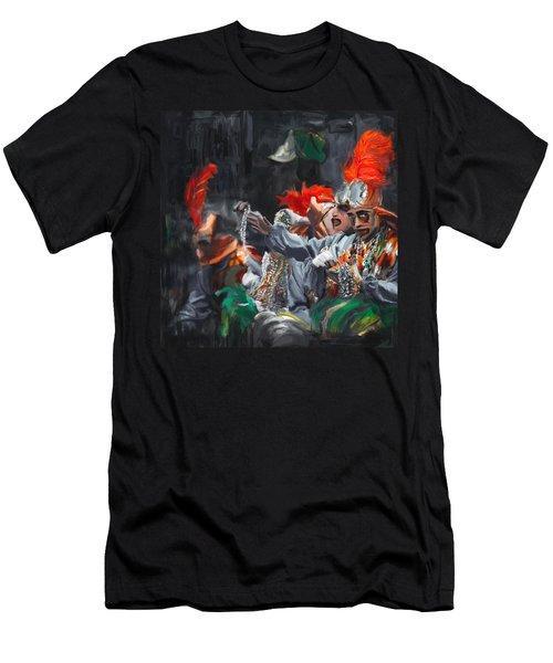 Mardi Gras 242 4 Men's T-Shirt (Athletic Fit)