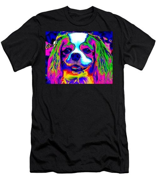 Mardi Gras Dog Men's T-Shirt (Athletic Fit)