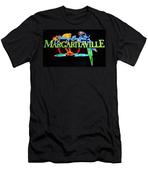 Margaritaville Neon Men's T-Shirt (Athletic Fit)