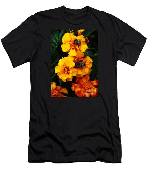 Marigold Cluster Men's T-Shirt (Athletic Fit)