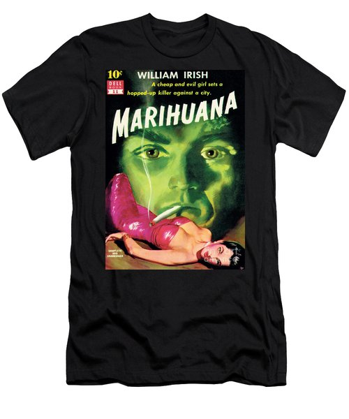 Marihuana Men's T-Shirt (Athletic Fit)
