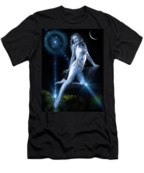 Marilyn Monroe - A Star Was Born Men's T-Shirt (Slim Fit) by Glenn Feron