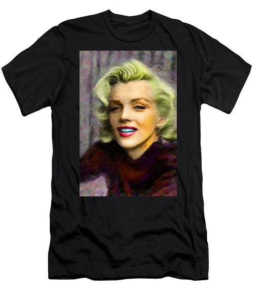 Marilyn Monroe Men's T-Shirt (Slim Fit) by Caito Junqueira
