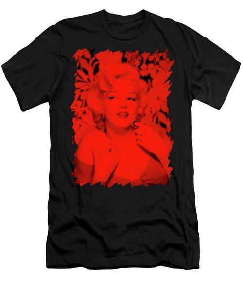 Marilyn Monroe Men's T-Shirt (Slim Fit) by Mona Jain