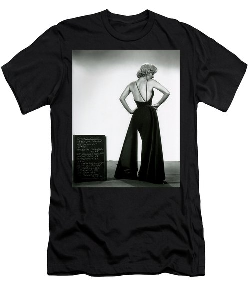 Men's T-Shirt (Athletic Fit) featuring the photograph Marilyn Monroe In Gentlemen Prefer Blondes by R Muirhead Art