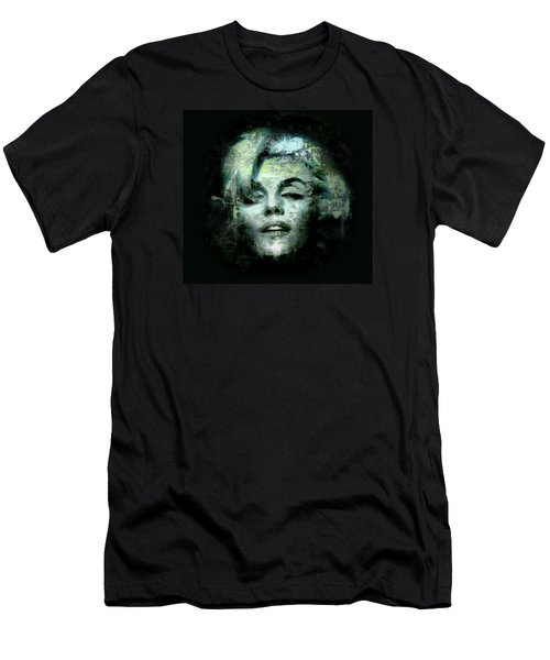 Men's T-Shirt (Slim Fit) featuring the digital art Marilyn Monroe by Kim Gauge