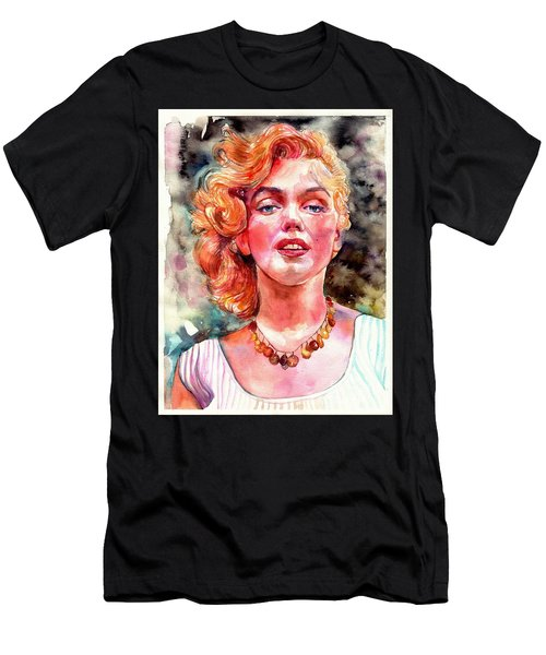 Marilyn Monroe Painting Men's T-Shirt (Athletic Fit)