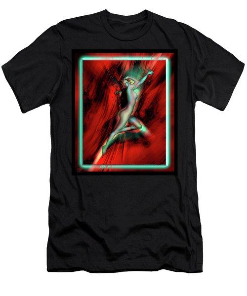 Marilyn's Rose Men's T-Shirt (Slim Fit) by Glenn Feron