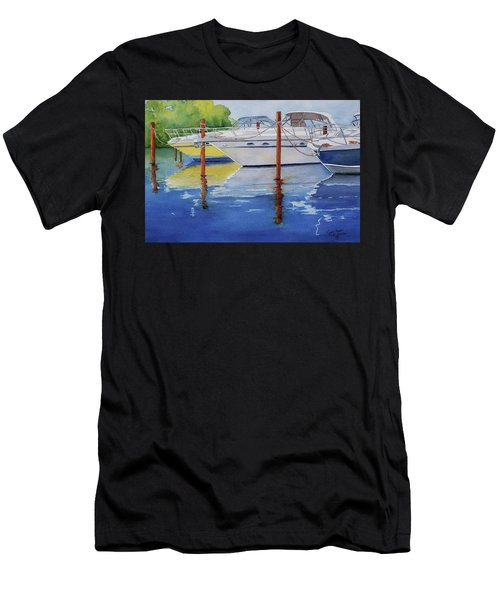 Marina Afternoon Men's T-Shirt (Athletic Fit)