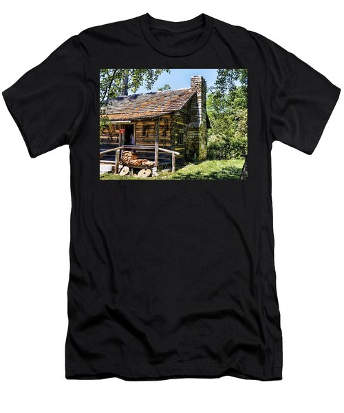 Mark Twains Family Cabin Men's T-Shirt (Athletic Fit)