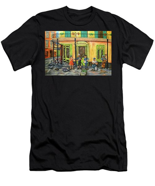 Market Musicians Men's T-Shirt (Athletic Fit)