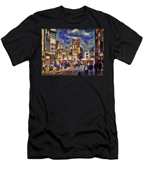 Market Square Monday Men's T-Shirt (Athletic Fit)