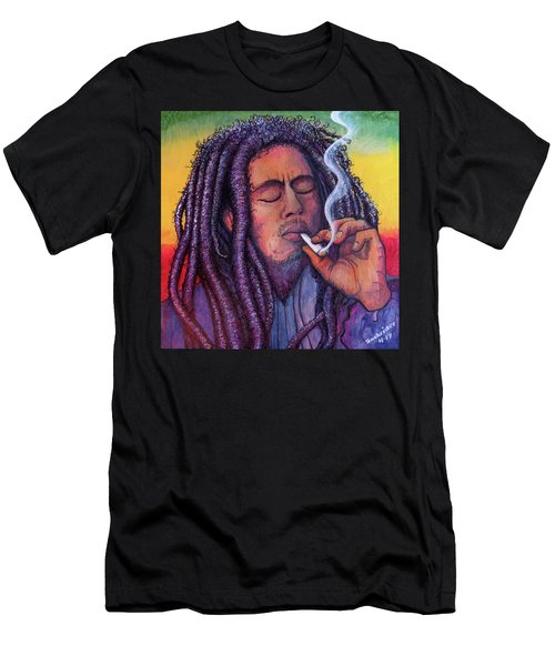 Marley Smoking Men's T-Shirt (Athletic Fit)