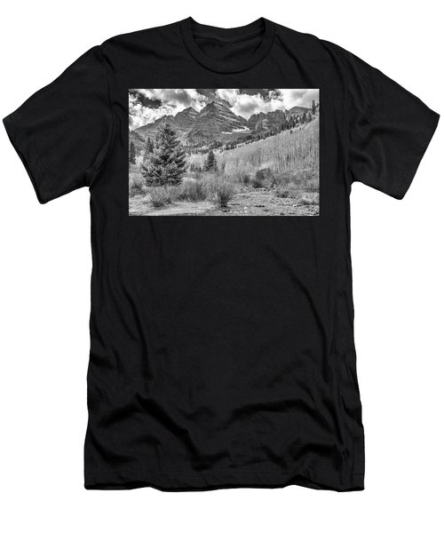 Maroon Creek Monochrome Men's T-Shirt (Athletic Fit)