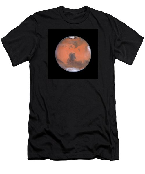 Men's T-Shirt (Athletic Fit) featuring the photograph Mars by Artistic Panda