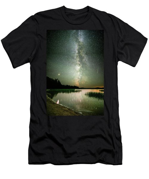 Mars Over Sabao Men's T-Shirt (Athletic Fit)