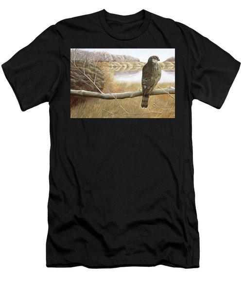 Marsh Hawk Men's T-Shirt (Athletic Fit)