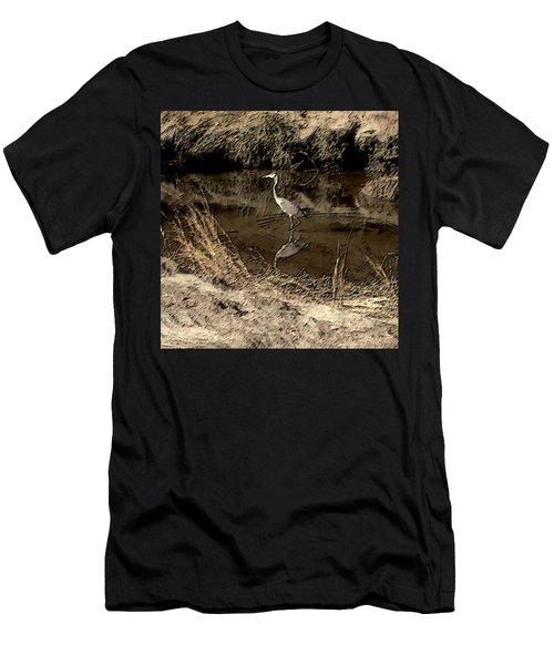 Marsh Bird Men's T-Shirt (Athletic Fit)