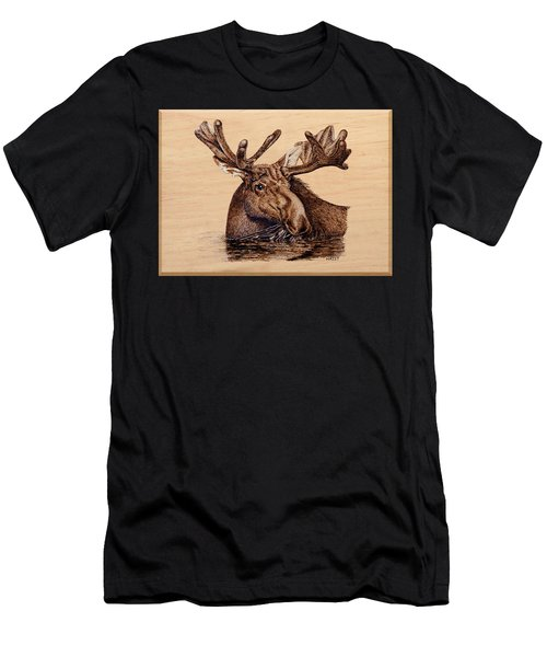 Marsh Moose Men's T-Shirt (Athletic Fit)
