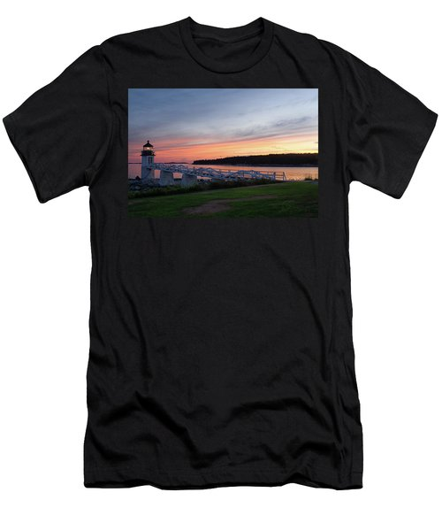 Marshall Point Lighthouse, Port Clyde, Maine -87444 Men's T-Shirt (Athletic Fit)