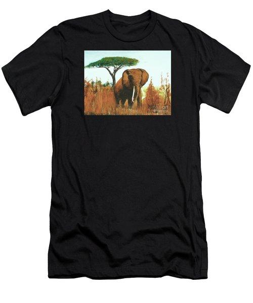 Marsha's Elephant Men's T-Shirt (Athletic Fit)