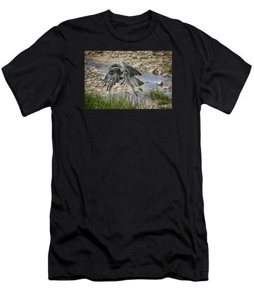 Martial Eagle Men's T-Shirt (Athletic Fit)
