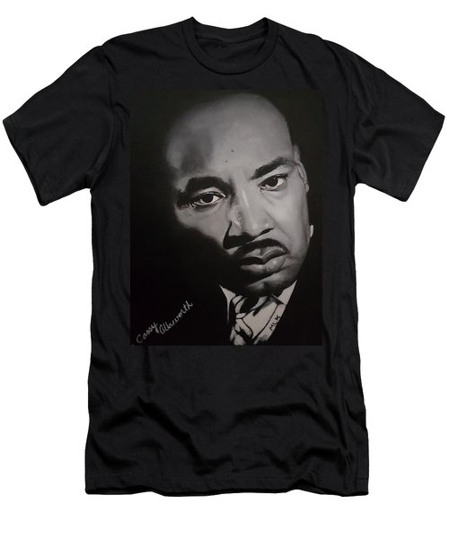 Martin Luther King Men's T-Shirt (Athletic Fit)