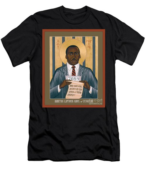 Martin Luther King Of Georgia  - Rlmlk Men's T-Shirt (Athletic Fit)
