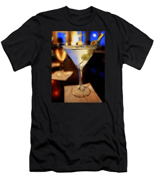 Martini Night Men's T-Shirt (Athletic Fit)