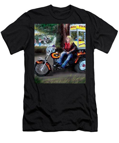 Marty's Harley Men's T-Shirt (Athletic Fit)