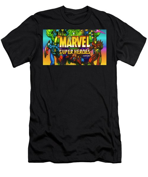 Marvel Super Heroes Men's T-Shirt (Athletic Fit)