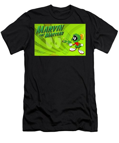 Marvin Martian Men's T-Shirt (Athletic Fit)