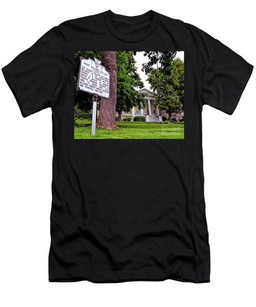 Men's T-Shirt (Athletic Fit) featuring the photograph Mary Baldwin College - Staunton Virginia by Kerri Farley
