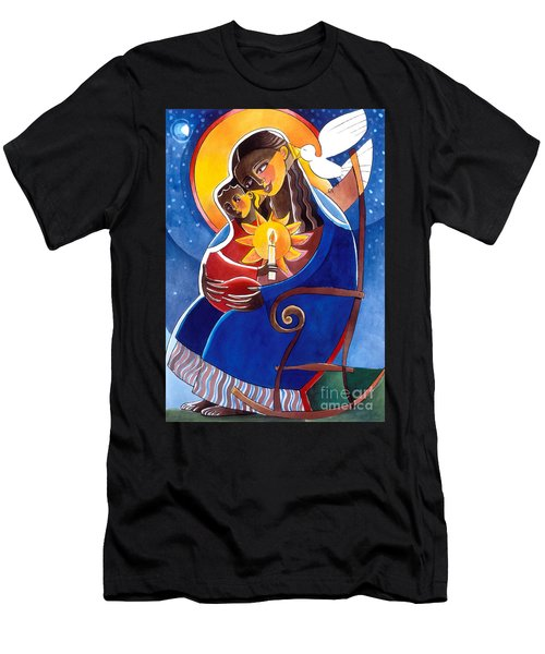 Mary, Seat Of Wisdom - Mmwis Men's T-Shirt (Athletic Fit)