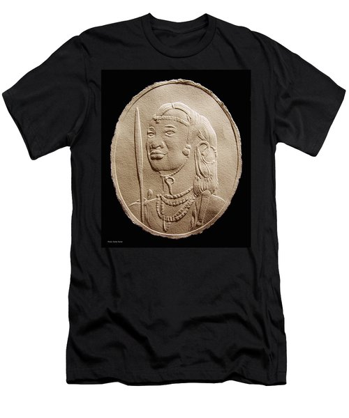 Masai Warrior Men's T-Shirt (Athletic Fit)